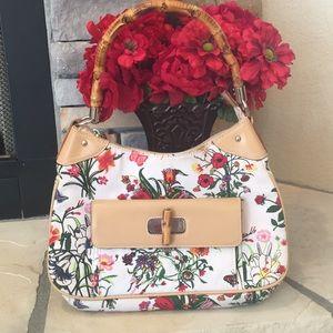 Handbags - Floral Print Bag